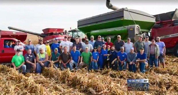08. Neighbors Harvest Fields for Farmer with Cancer