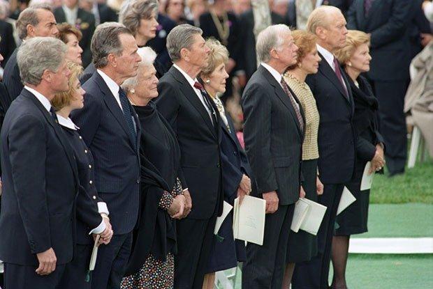 22. Funeral of Richard Nixon