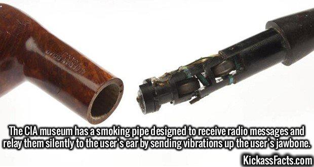 2780 CIA Smoking Pipe