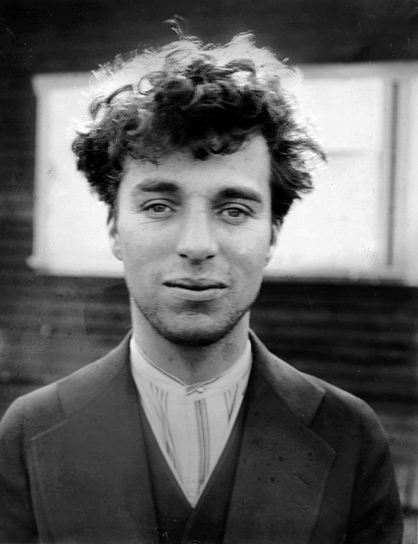 Charlie Chaplin at age 27