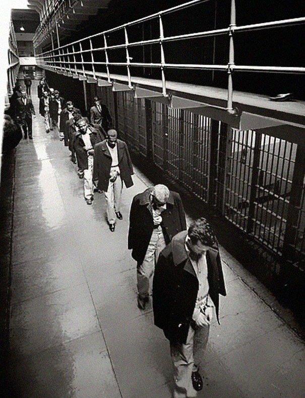 Last prisoners of Alcatraz