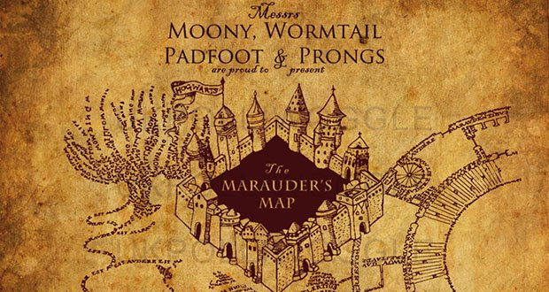 Harry Potter Backstory Part 4 Marauders Map