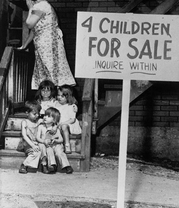 Mother Sells Children