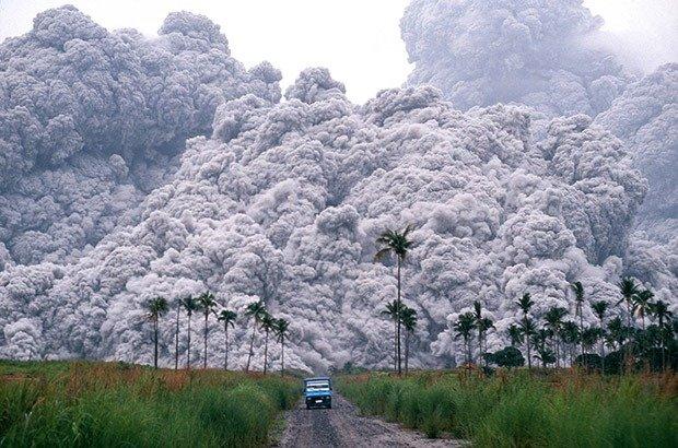 Mt.Pinatubo volcano