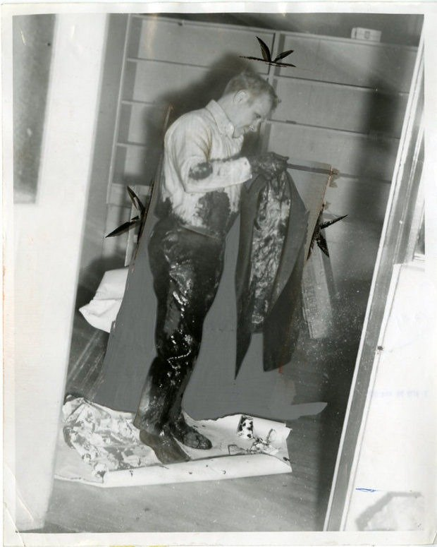 Principal R. Wiley Brownlee was tarred and feathered