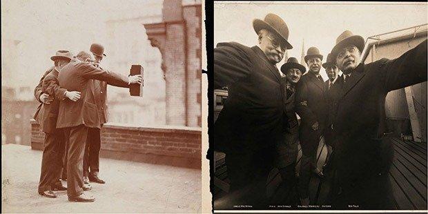 Selfies circa 1920s