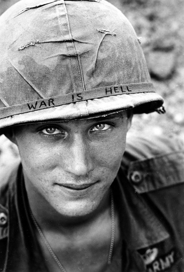Unknown soldier in Vietnam
