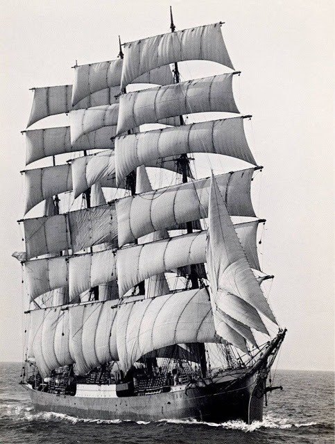 World's last commercial sailing ship
