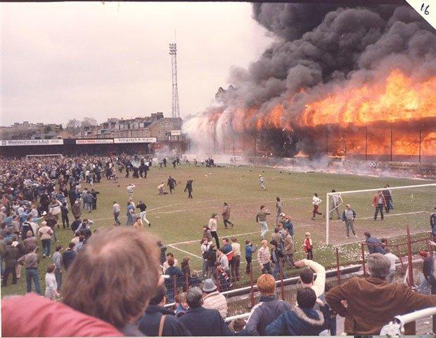 07. Bradford City stadium fire