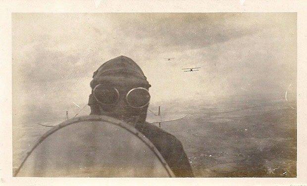 10. Biplane Pilot