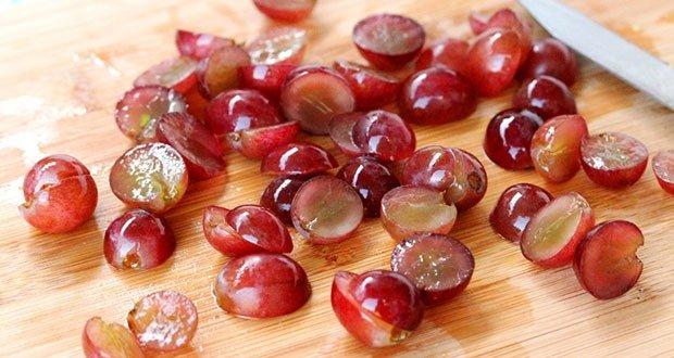 10. Half Cut Grapes