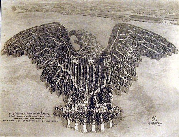 10. Human Eagle
