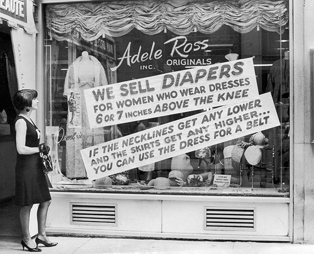 12. Anti Mini Skirt Sign