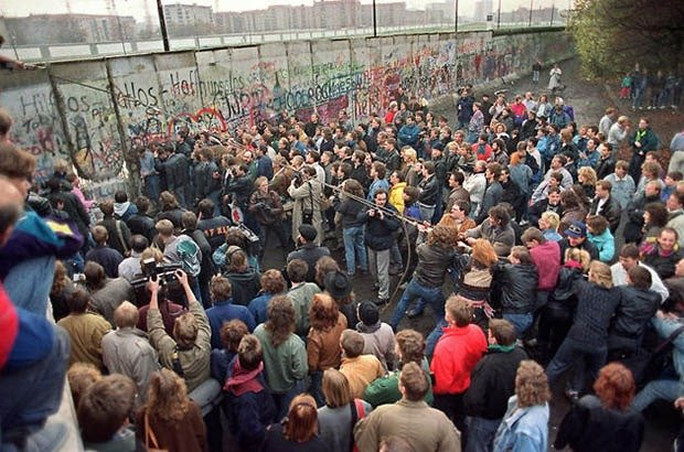12. Fall of the Berlin Wall,
