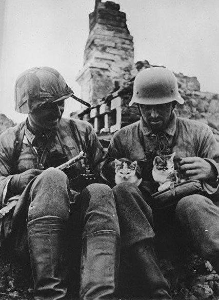 12. German grenadiers