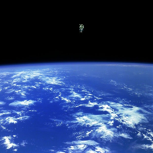 12. Untethered spacewalk