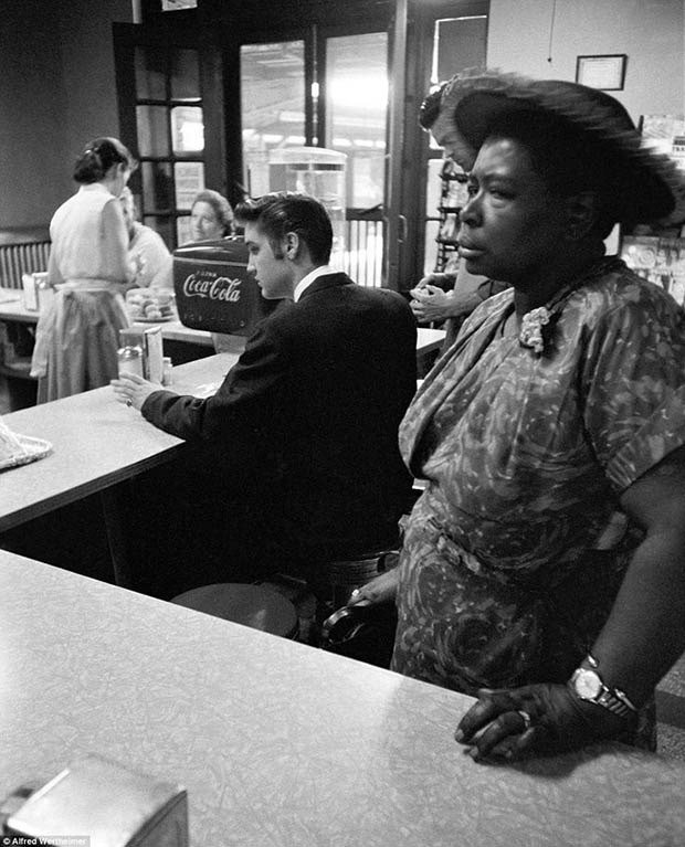 14. Segregated lunch counter
