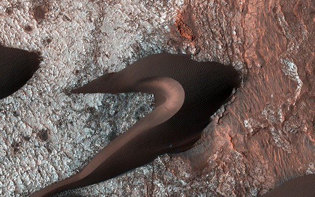 16. Martian Sand Dunes