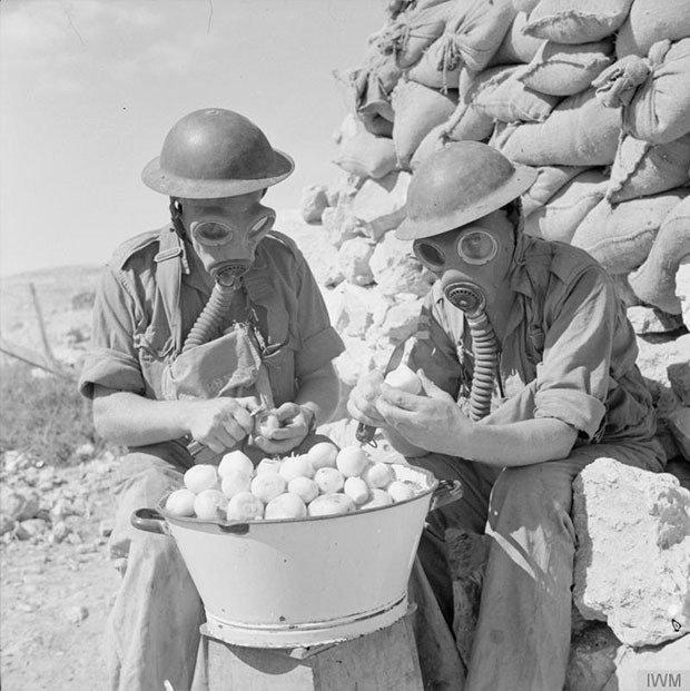23. Peeling onions