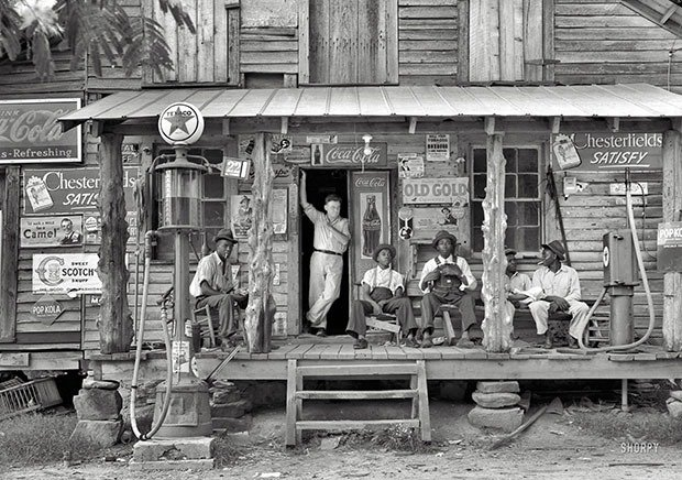 24. Country store