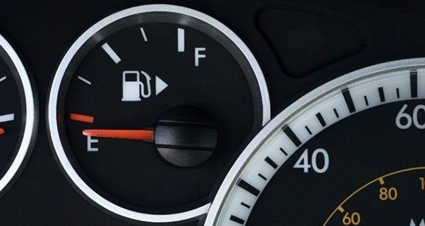Dashboard gas pump