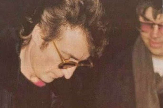 John Lennon & Mark David Chapman