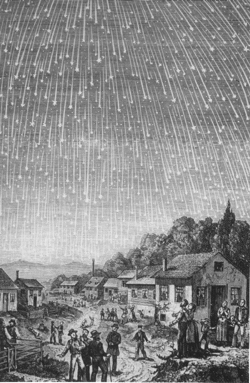 02. 1833 Leonid meteor storm