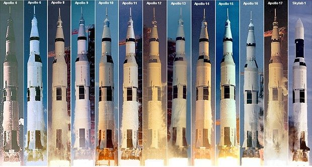 06. Saturn V Launches