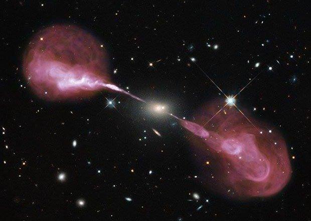 13. Supermassive black hole
