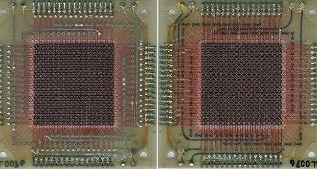 AGC ferrite core memory.