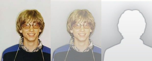 Bill Gates' mug shot
