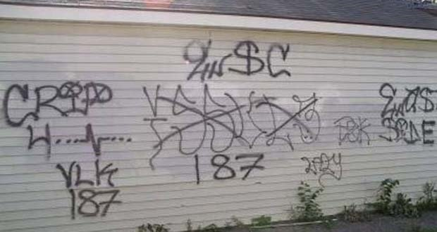 Gang Graffiti
