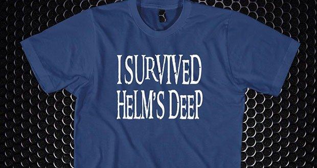 I survived Helms Deep