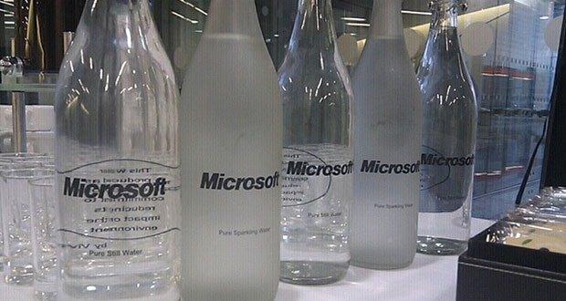 Microsoft water
