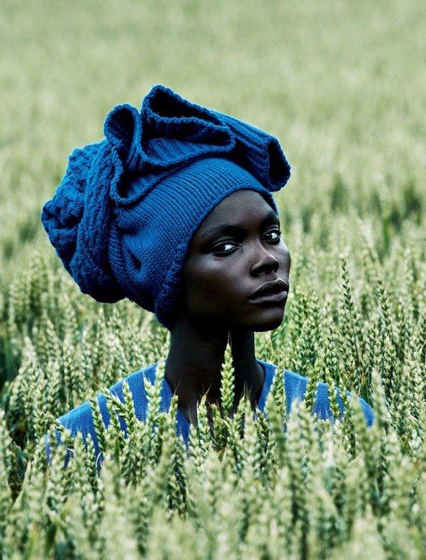 02. Woman in Blue