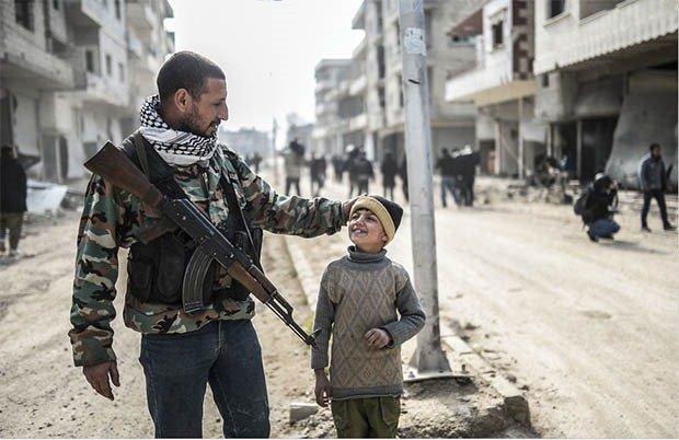 08. Kurdish fighter