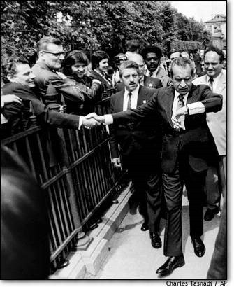 10. President Nixon