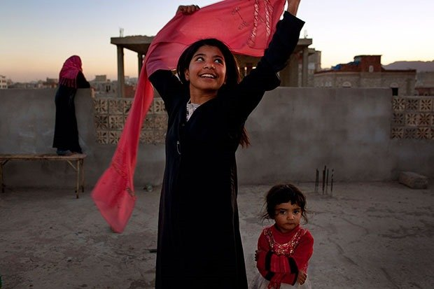 11. Yemeni girl