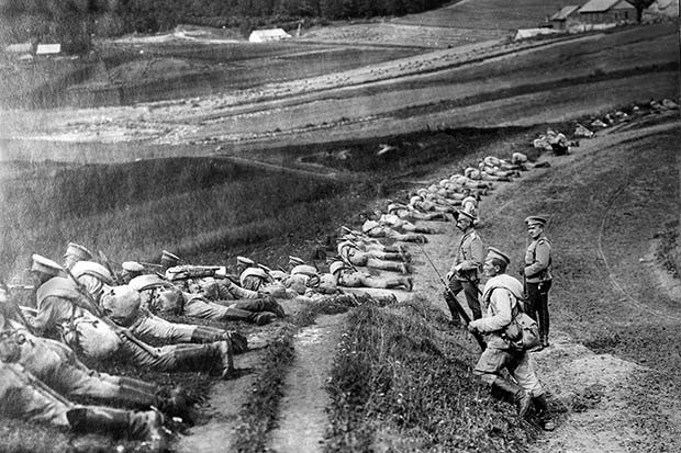 12. Russian infantry
