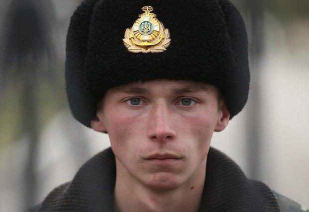 12. Ukrainian soldier