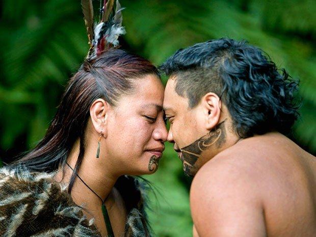 16. Maori Greeting