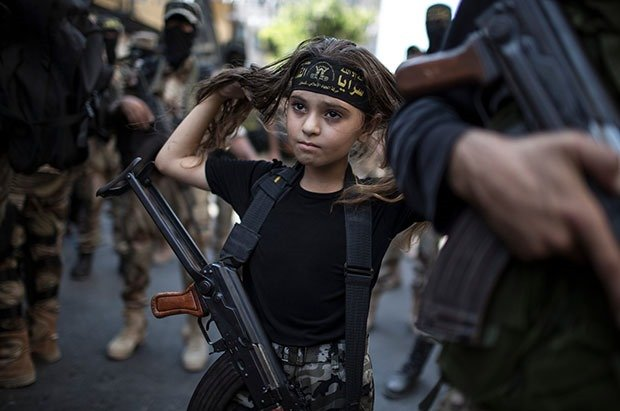 17. Palestinian girl