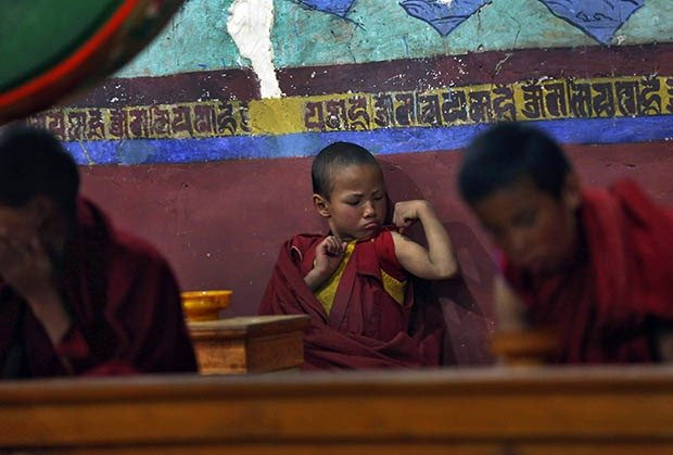 22. Young Monk