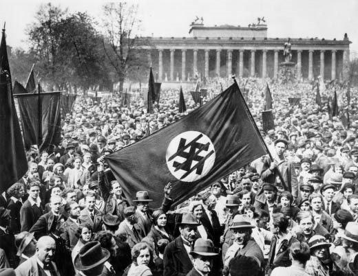 23. Anti NAZI demonstration