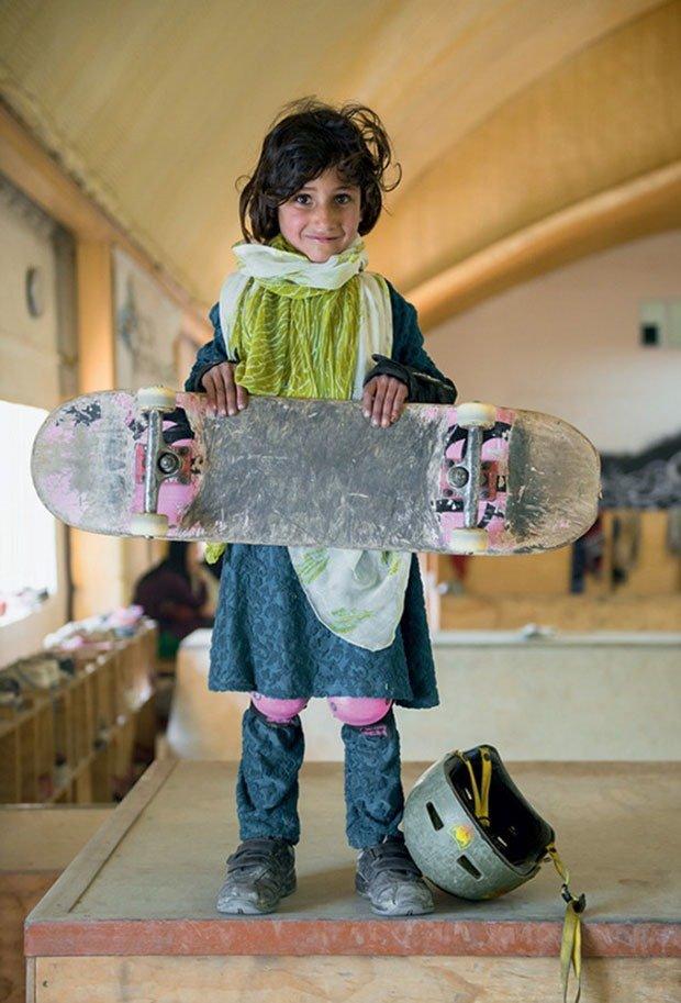 24. Skateboarder