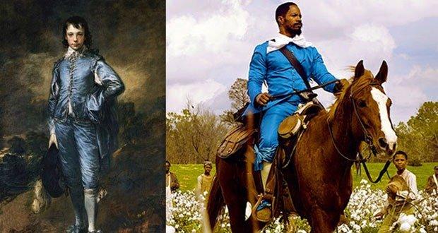 Django Blue Suit