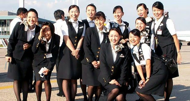 Japan Airlines Flight Attendants