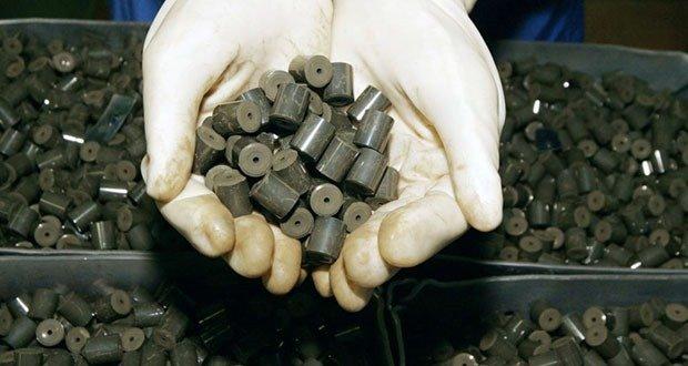 Nuclear fuel pellets
