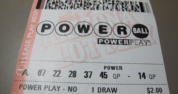 Powerball ticket