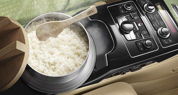 Audi built in rice cooker